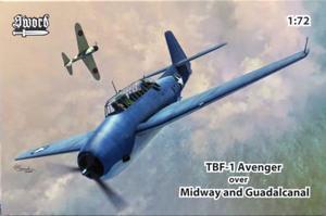 1/72 TBF-1 アベンジャー 「ミッドウェイ・ガダルカナル」