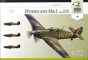 1/72 ホーカー ハリケーン Mk.I 「アライド・スコードロン」 リミテッドエディション