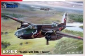 1/72 ダグラス A-20B/C ボストン爆撃機・UTK-1銃塔装備型