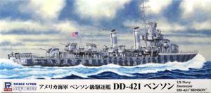 1/700 アメリカ海軍 ベンソン級駆逐艦 DD-421 ベンソン