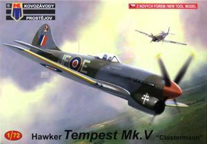 1/72 ホーカー テンペスト Mk.V 「ピエール・クロステルマン」