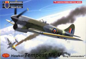 1/72 ホーカー テンペスト Mk.V 「中佐乗機」