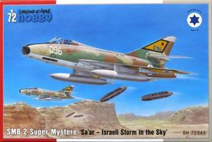 1/72 イスラエル・サール/SMB-2 シュペルミステール 攻撃機