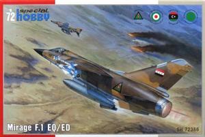 1/72 ダッソー・ミラージュF.1 EQ/ED戦闘機