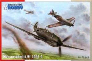1/72 独・メッサーシュミット Bf109E-3戦闘機