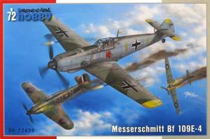 1/72 独・メッサーシュミット Bf109E-4戦闘機