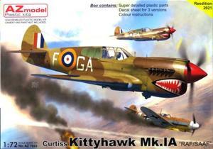 1/72 キティホーク Mk.Ia RAF/SAAF