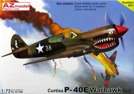 1/72 P-40E 「フライング・タイガース」