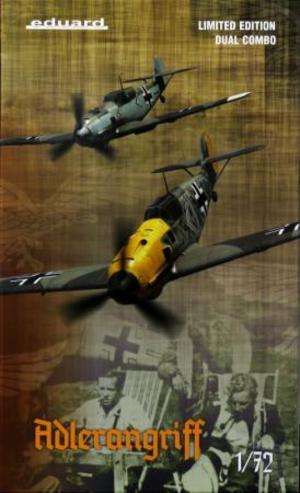 1/72 Bf109E アドラーアングリフ作戦 デュアルコンボ リミテッドエディション