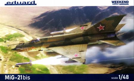 1/48 MiG-21bis ウィークエンドエディション