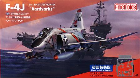 1/72 アメリカ海軍 F-4J 戦闘機 `アードバークス` (初回限定特装版)