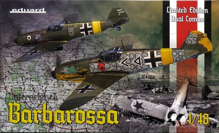 1/48 「バルバロッサ作戦」 Bf109E/F デュアルコンボ リミテッドエディション
