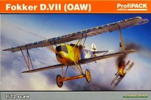 1/72 フォッカーD.VII (OAW) プロフィパック