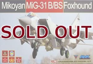 1/48 ミコヤン MiG-31B/BS フォックスハウンド