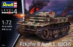1/72 ドイツ II号戦車 L型 ルクス