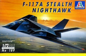1/72 ロッキード F-117A ナイトホーク