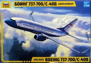 1/144 ボーイング 737-700/C-40