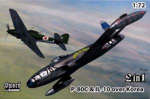 1/72 P-80C vs Il-10 「朝鮮戦争」 2in1