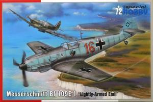 1/72 独・メッサーシュミット Bf109E-1戦闘機