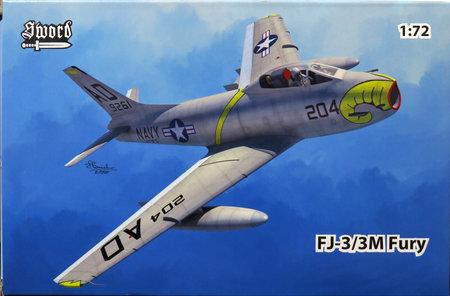 1/72 FJ-3/3M フューリー