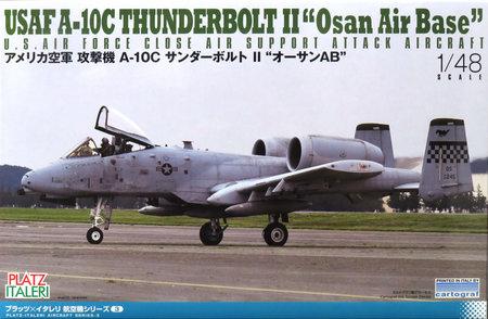 1/48 アメリカ空軍 攻撃機 A-10C サンダーボルトII `オーサンAFB`