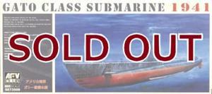 1/350 米海軍 ガトー級潜水艦 1941