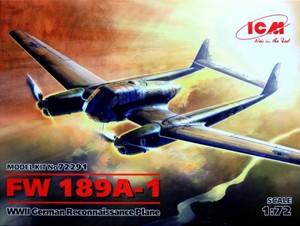 1/72 フォッケウルフ Fw189A-1