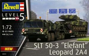1/72 SLT 50-3 エレファント & レオパルド2A4