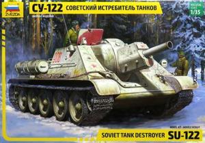 1/35 SU-122 ソビエト自走砲