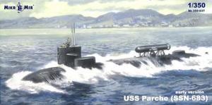 1/350 SSN-683 USS パーチー 原子力潜水艦 (初期型)