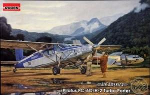 1/48 スイス・ピラタスPC6C/H2ターボポーターSTOL小型輸送機