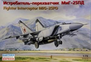 1/72 MiG-25PD ジェット戦闘迎撃機