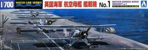 1/700 英国海軍 航空母艦艦載機 No.1