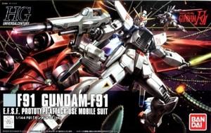 HGUC F91「ガンダムF91」