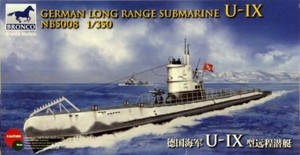 1/350 ドイツ Uボート U-9型 潜水艦 (遠洋型)