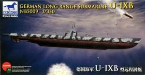 1/350 ドイツ Uボート U-9B型 潜水艦 (遠洋型)