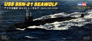 1/700 アメリカ海軍 SSN-21 シーウルフ