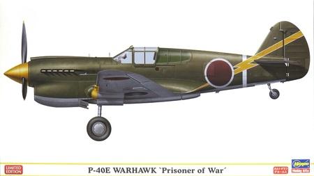 1/48 P-40E ウォーホーク `日本軍鹵獲機`