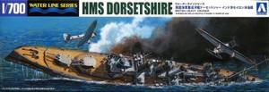 1/700 英国海軍重巡洋艦ドーセットシャー インド洋セイロン沖海戦