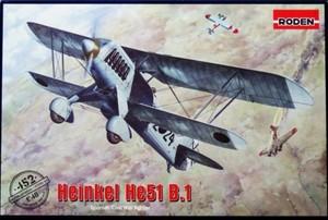 1/48 ハインケルHe51B.1 複葉戦闘機
