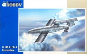 1/48 フェゼラー Fi103A-1/Re 4 ライフェンベルク攻撃機