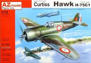 1/72 カーチス H-75C1 「フランス空軍エース」