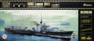 1/700 イギリス海軍駆逐艦 ランス 1941年 デラックスエディション