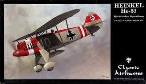 1/48 ハインケル He-51 - リヒトフォーヘン飛行中隊