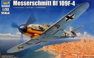 1/32 ドイツ軍 メッサーシュミット Bf109F-4