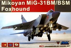 1/48 ミコヤン MiG-31BM/BSM フォックスハウンド