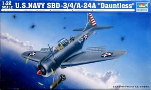 1/32 アメリカ海軍 急降下爆撃機 SBD-3/4/A-24A ドーントレス