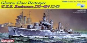1/350 グリーブス級駆逐艦 U.S.S. ブキャナン DD-484 1942