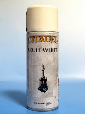 シタデルベースコートスプレー スカル・ホワイト