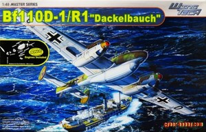 """1/48 ドイツ空軍 Bf110 D-1/R1 """"Dackelbauch"""""""